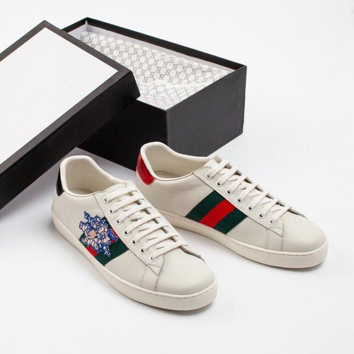 dce95884 Кроссовки Gucci – купить в Москве, цена 10 900 руб., дата размещения ...