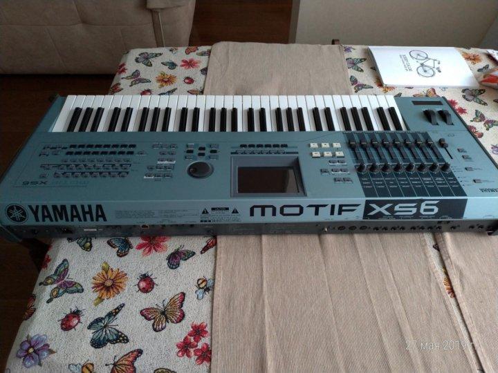 Yamaha MOTIF RACK XS Editor Download