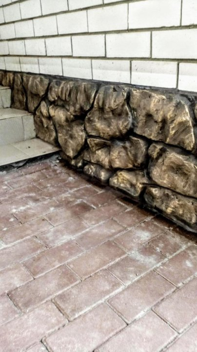 Цоколь арт бетон размеры кирпичей из керамзитобетона