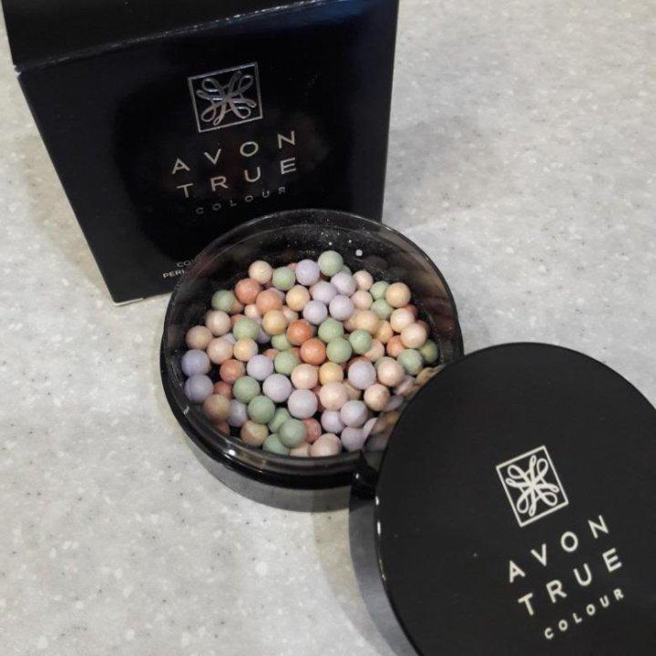 Avon пудра-шарики с корректирующим эффектом купить косметику из сша и европы