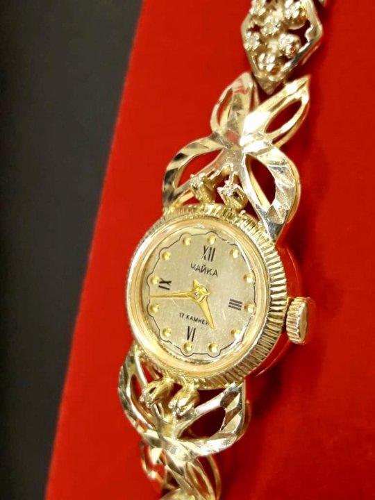 Чайка часы бриллиантами с золотые продать ломбард нижний новгород победа