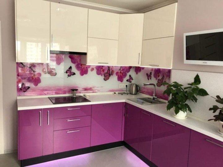 стеновой фартук для розовой кухни фото названия, вероятно, удивят
