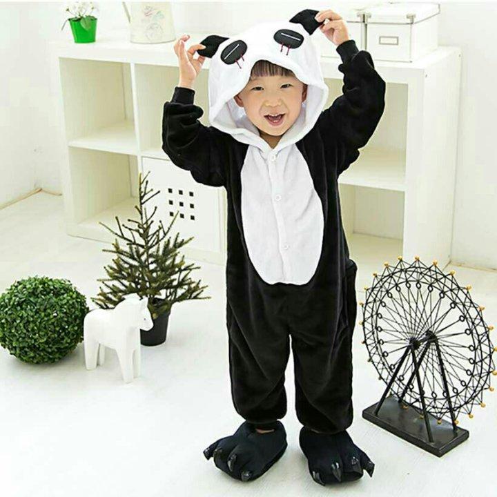 beb611a61da5a пижама кигуруми панда весёлая, грустная – купить в Красногорске ...