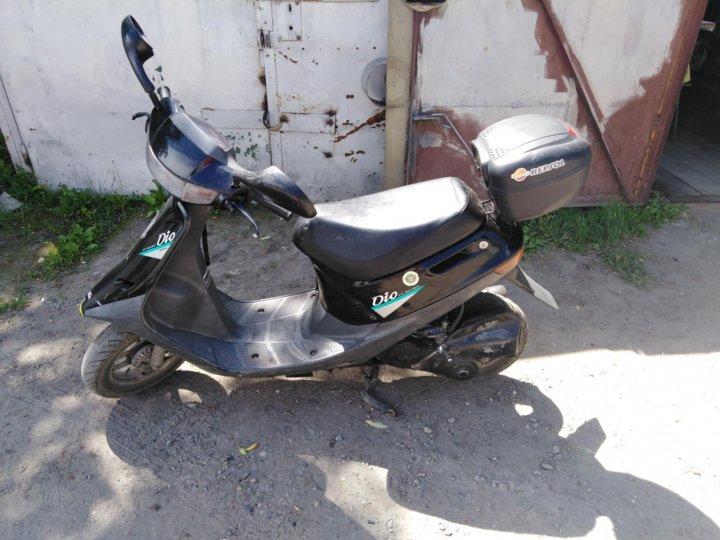 Обзор скутера Honda Dio AF-18/25   Живи и езди!   540x720