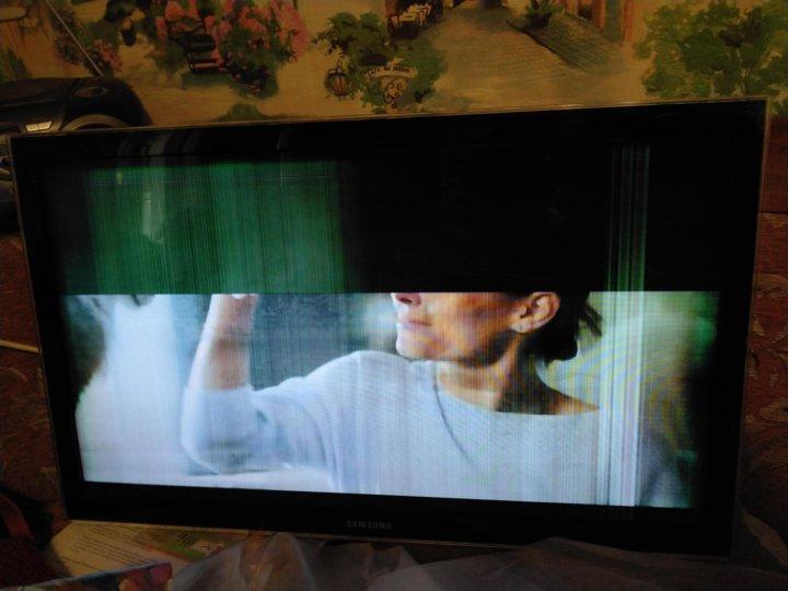 Виснет картинка на телевизоре
