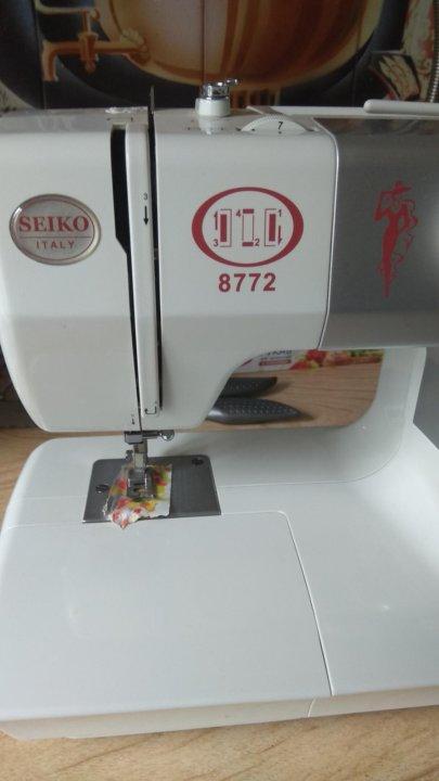 Швейная машинка сейко 8772 цена технические ткани купить в кирове