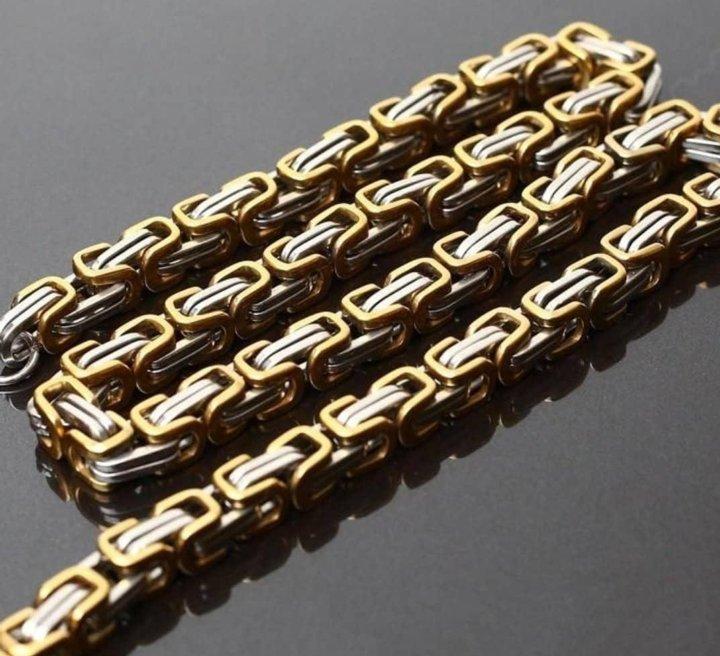 всём мужские золотые цепи название фото более