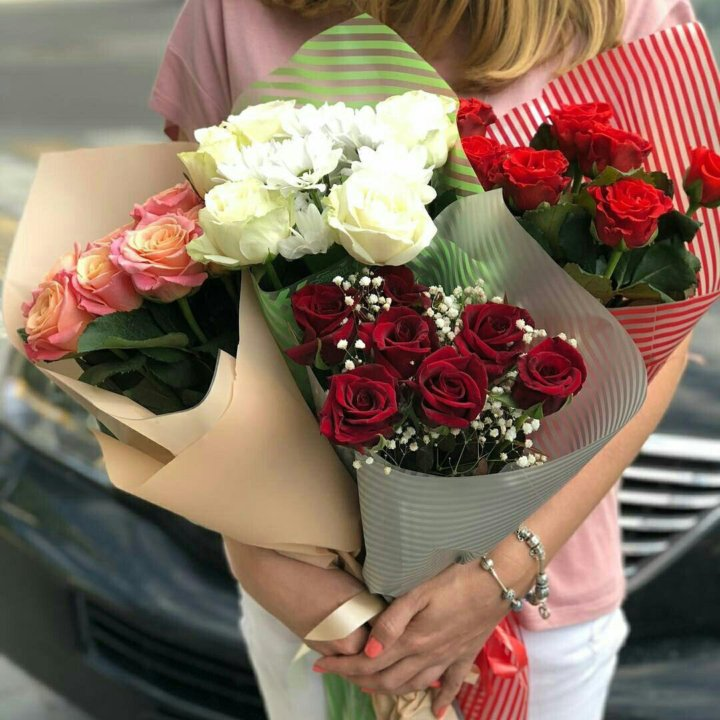 Розы в краснодаре с доставкой в пределах 1500