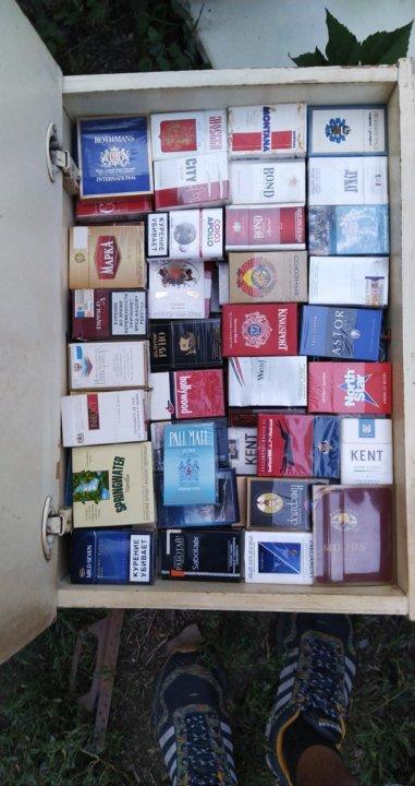 сам фото коллекции пустых пачек от сигарет собраны лучшие
