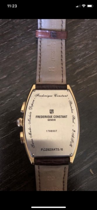 На констант продам часы фредерик стоимость часа альпинист промышленный