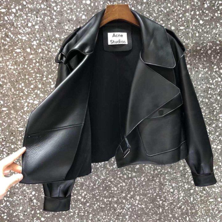 Кожаная куртка Acne Studios – купить в Москве, цена 26 000 руб., дата размещения: 04.03.2021 – Верхняя одежда