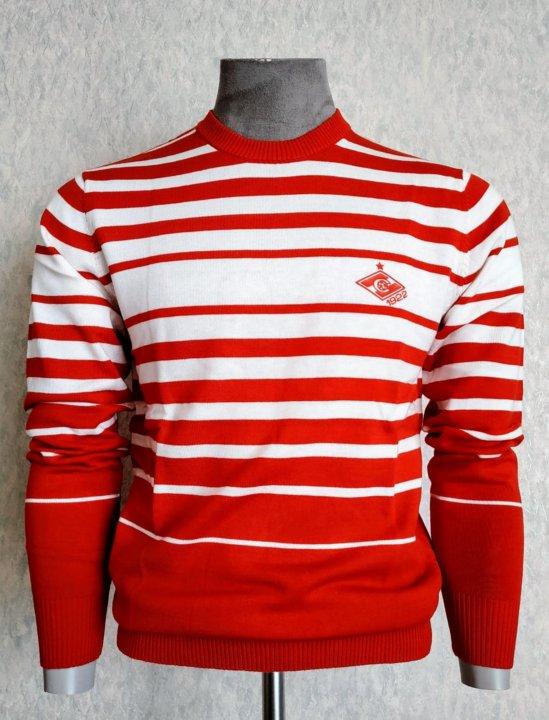 свитер спартак москва футбольный клуб