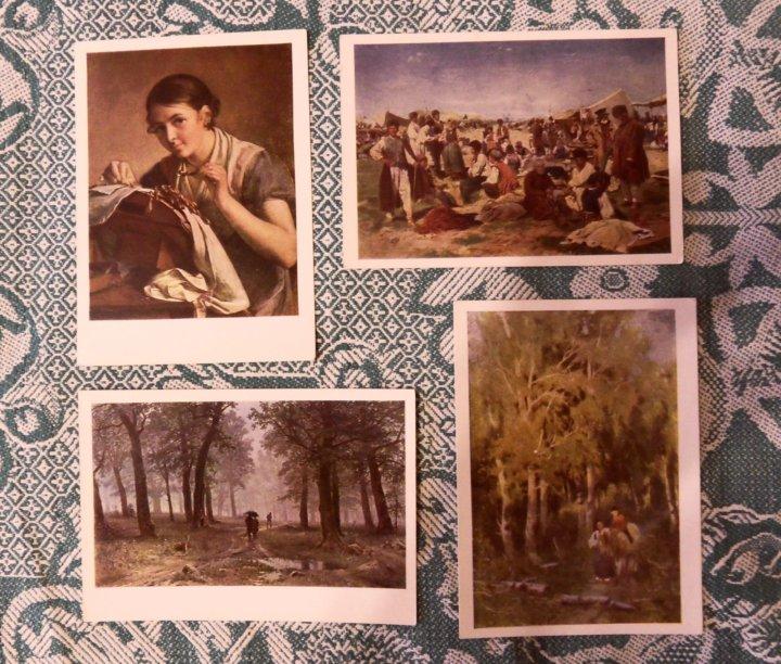 художественные открытки их собирание