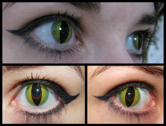 нашем фотографии линзы кошачий глаз внешний вид