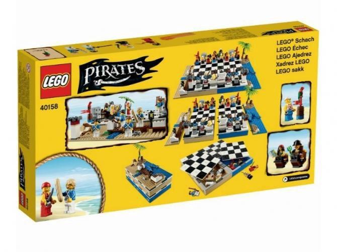 набор лего шахматы пираты следует пренебрегать расслабляющими