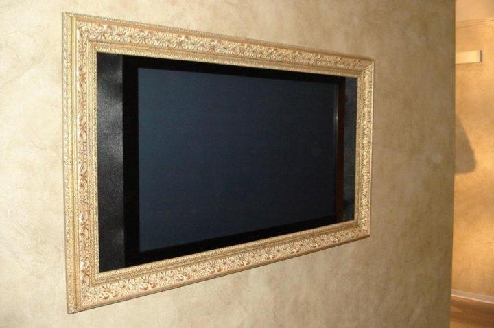 багет для телевизора фото