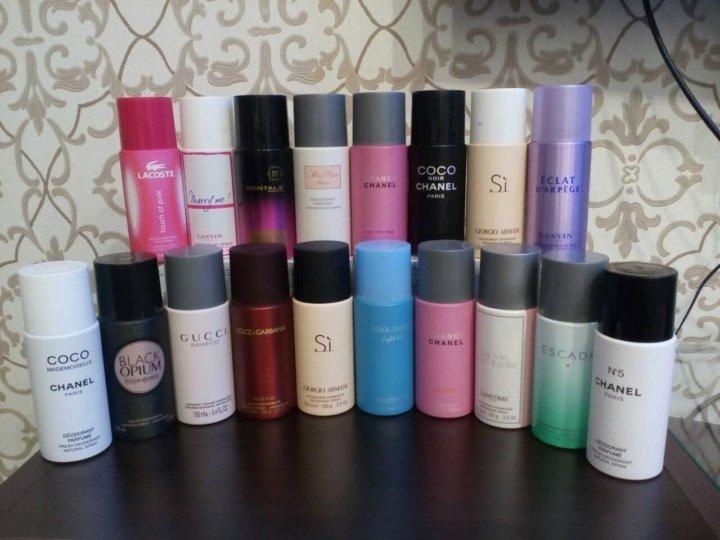 купить парфюмированный дезодорант на летишопс