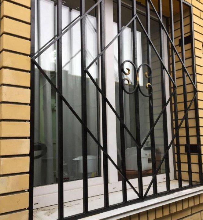 фото решеток на окна сварные нас так