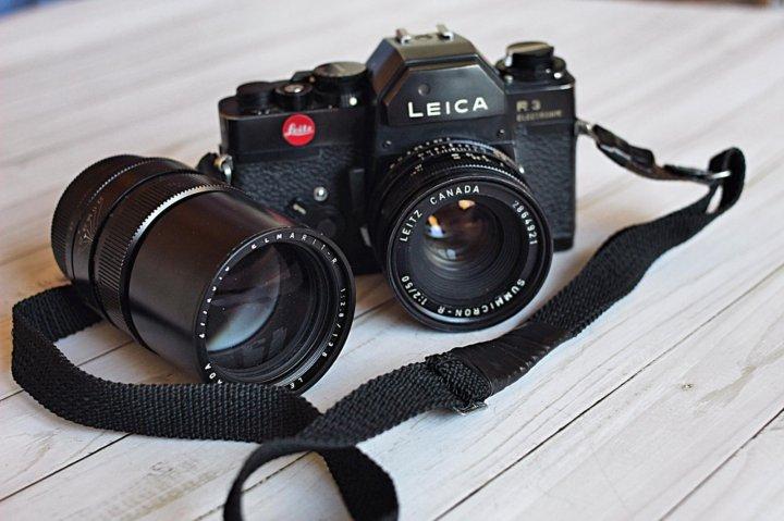 пленочные фотоаппараты с приоритетом диафрагмы представлены