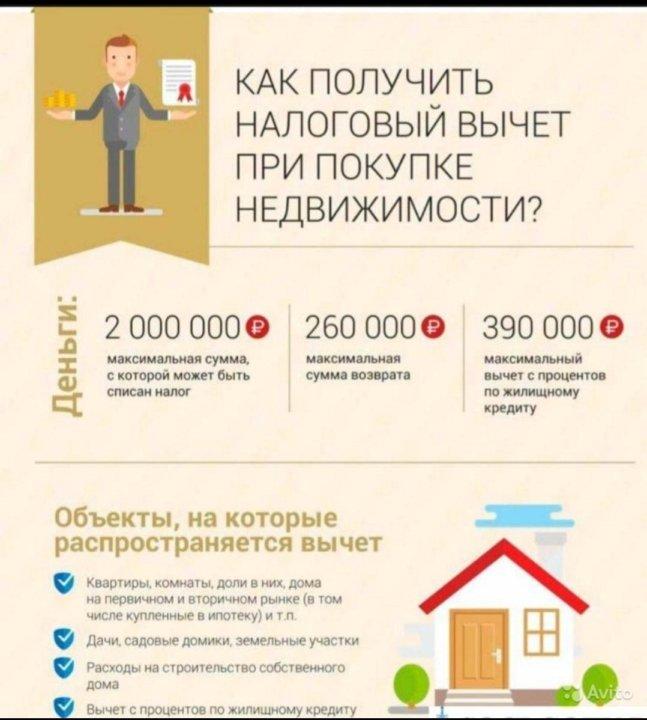 налог на недвижимость при покупке квартиры