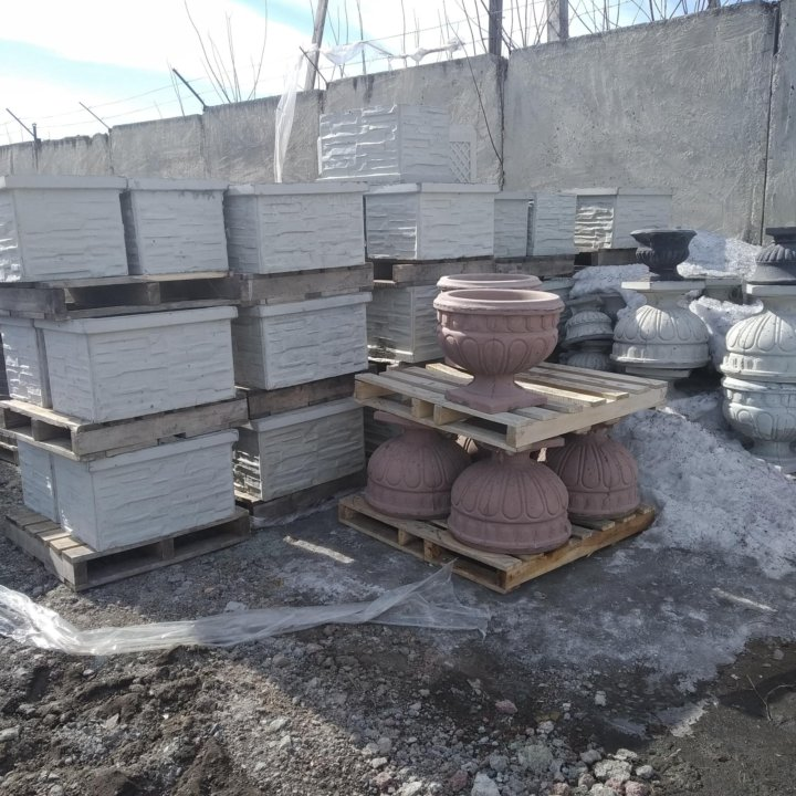 вазон из бетона купить в барнауле