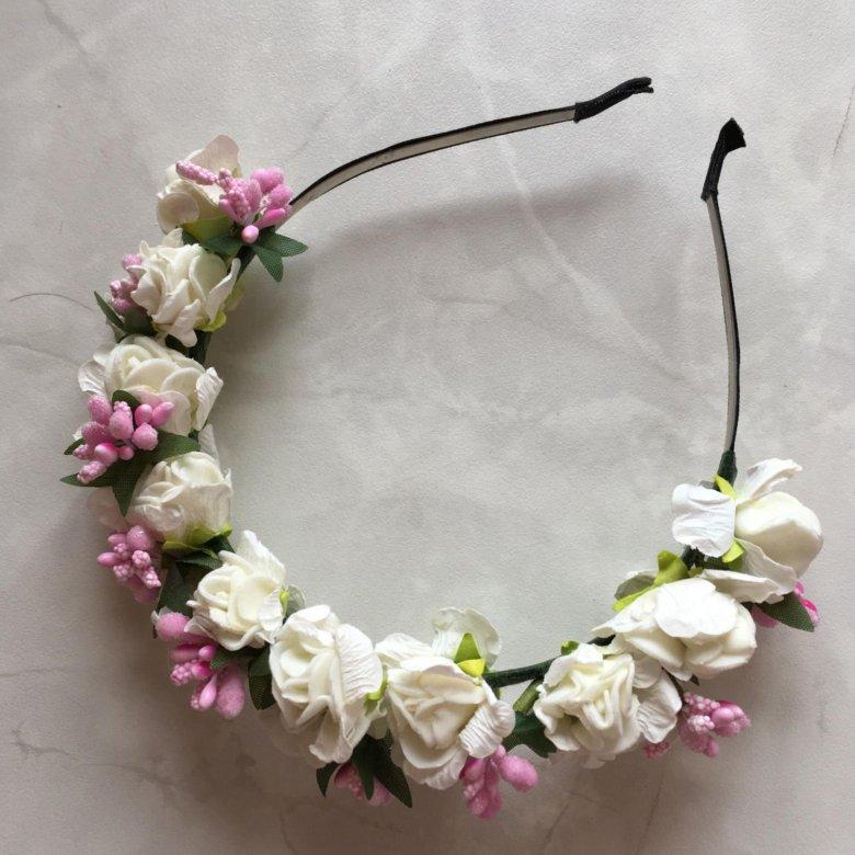 Спб, венки из цветов на голову купить спб