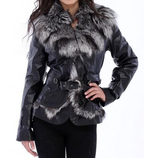 меховые куртки женские фото подобрала