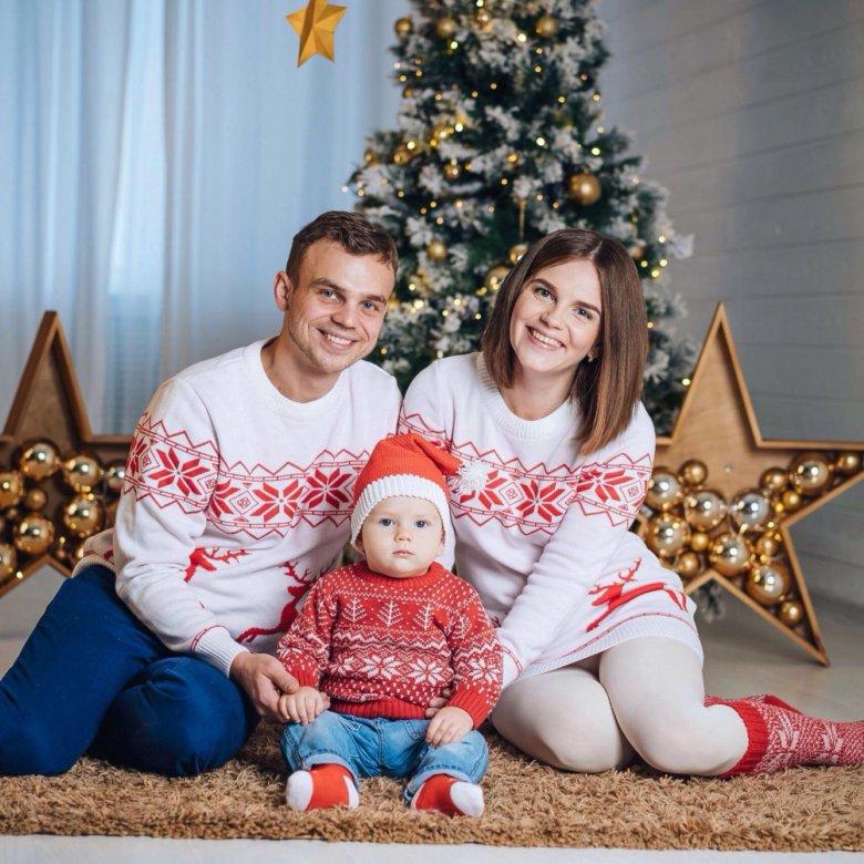 связать круглый луки в свитерах для новогодней фотосессии него кроме
