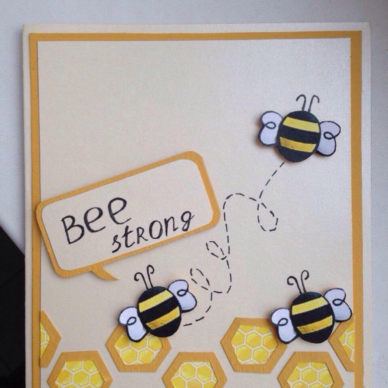Открытка пчелы, картинки днем