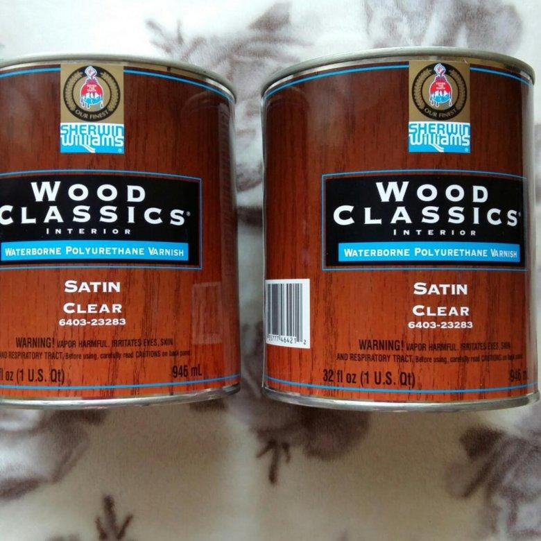 Sherwin Williams США Wood Clics
