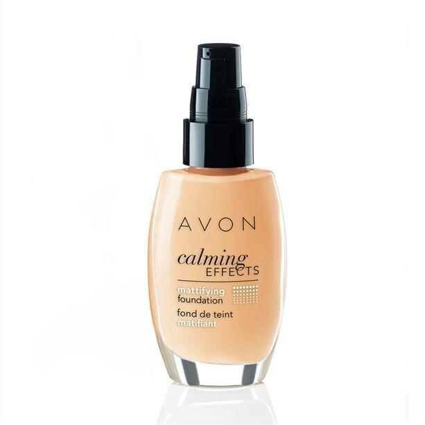 Avon тональный крем calming effect luck limitless avon отзывы