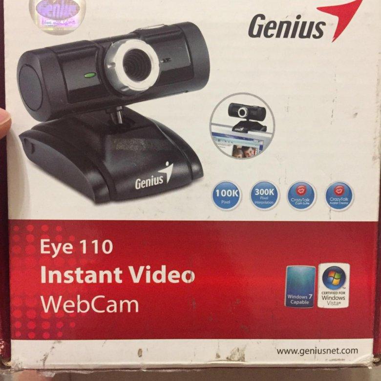 Genius Eye 110 Webcam Windows