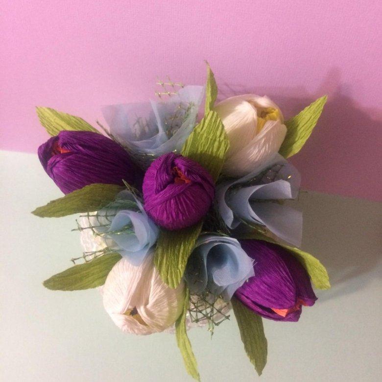 Букеты из конфет купить в уфе, цветов