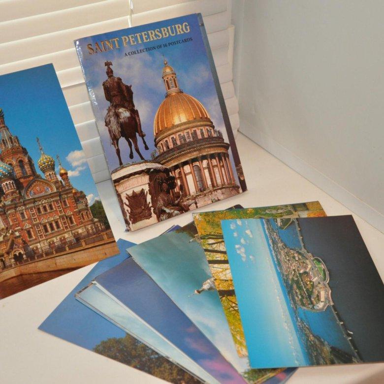 Набор открыток с видами санкт-петербурга, доченька