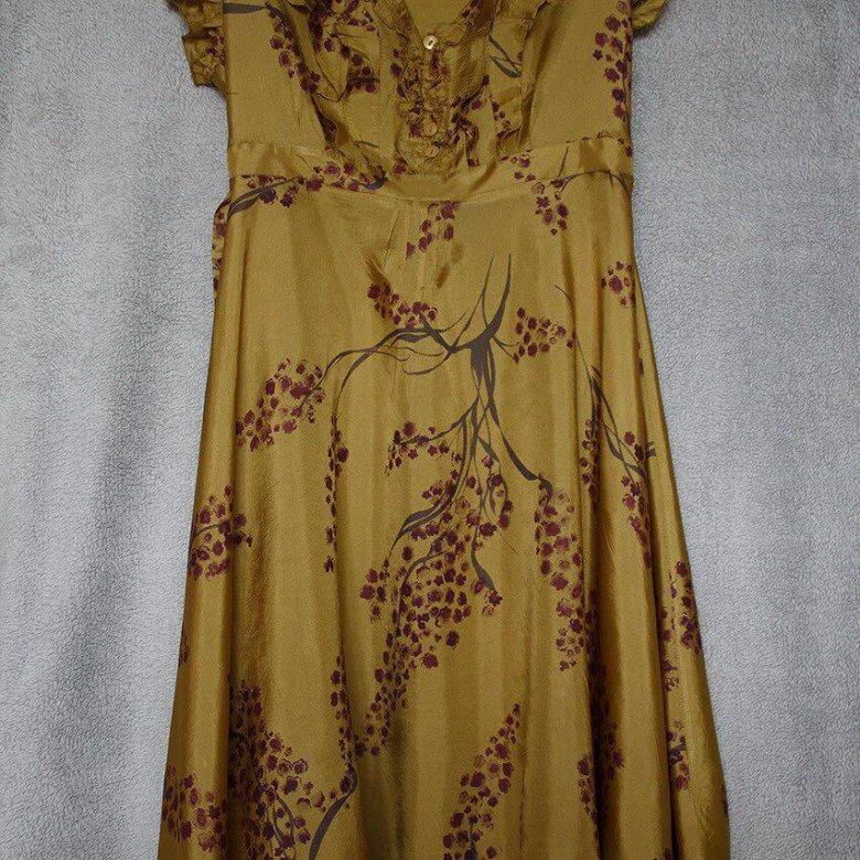 Платье Натуральный Шелк На Авито