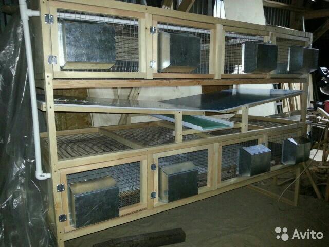 Блок откормочный для кроликов купить