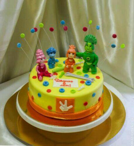 Торт з фото детский