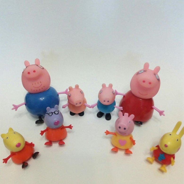 Адольфом, картинки свинка пеппа и ее друзья фото