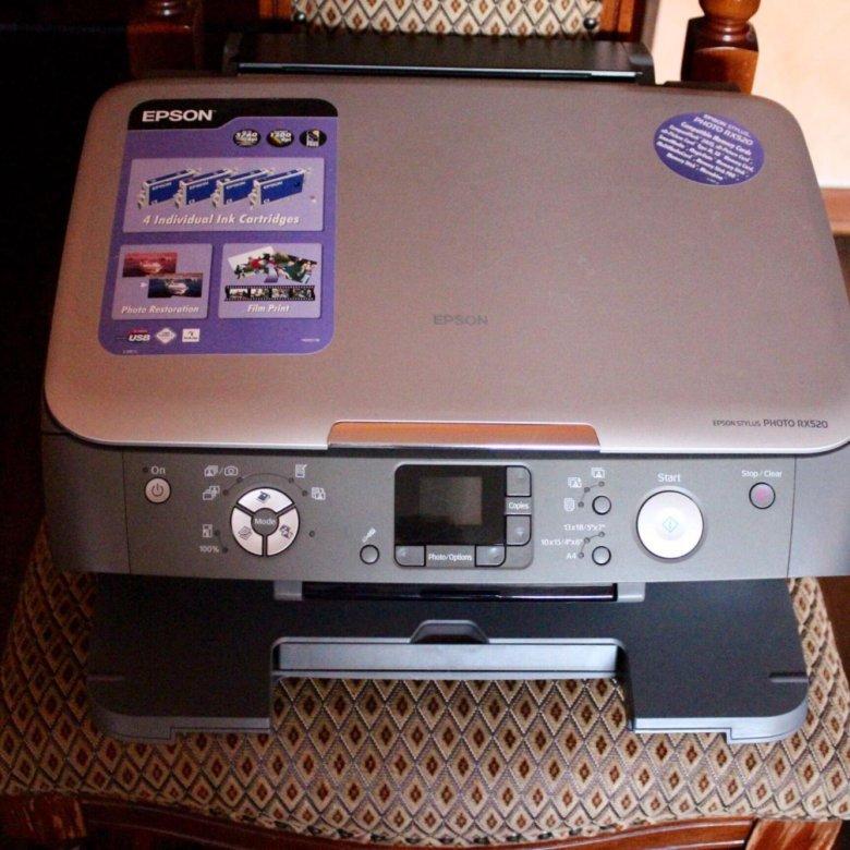 antipampers для принтера epson stylus photo rx520