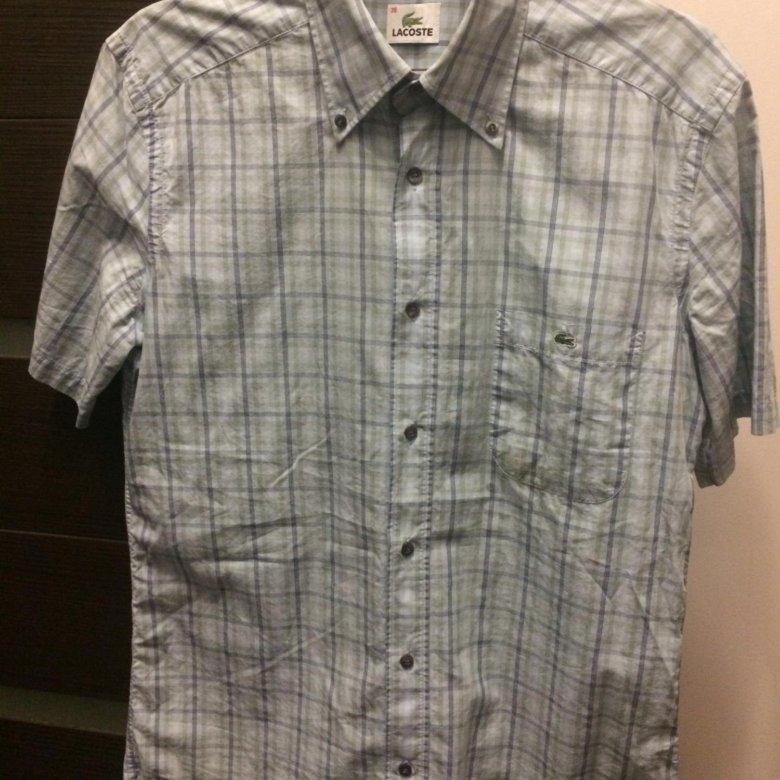 Оригинальная рубашка Lacoste – купить в Балашихе, цена 2 000 руб., дата  размещения  10.01.2019 – Рубашки f8d6472c4a7