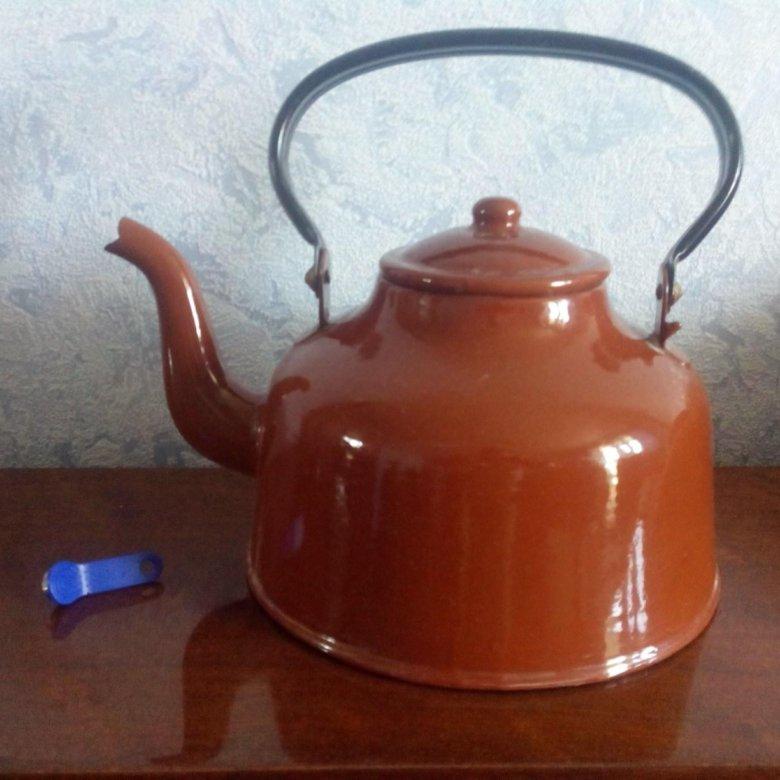 фото чайника советских времен наличии