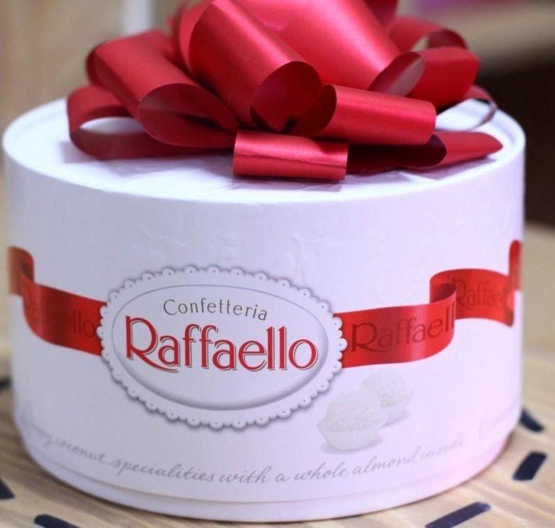 Рафаэлло картинки большая коробка, слова