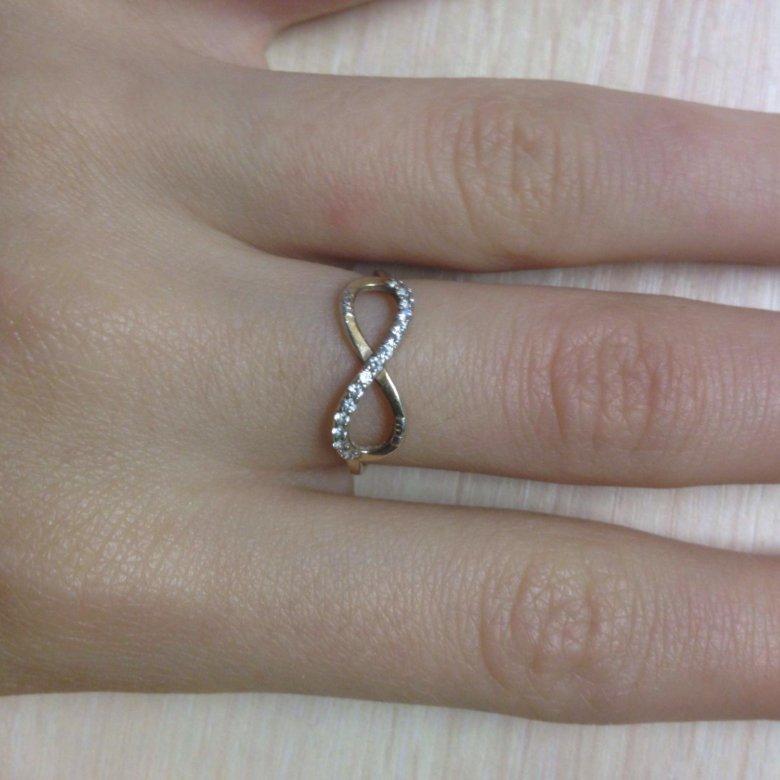 Серебряные Кольца Для Девушек Со Знаком Бесконечности
