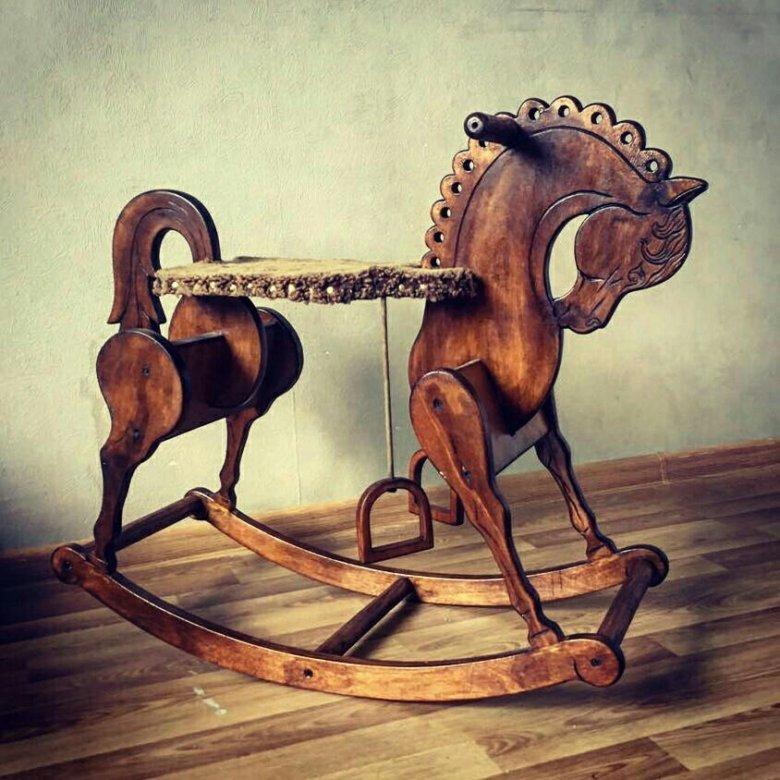 Картинки лошадь в качалке