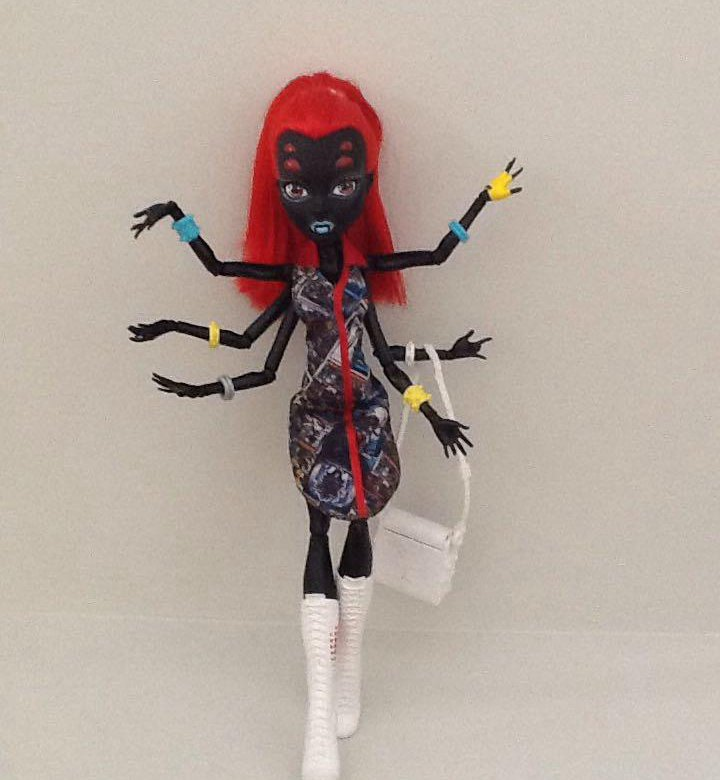 кукла паук монстр хай под