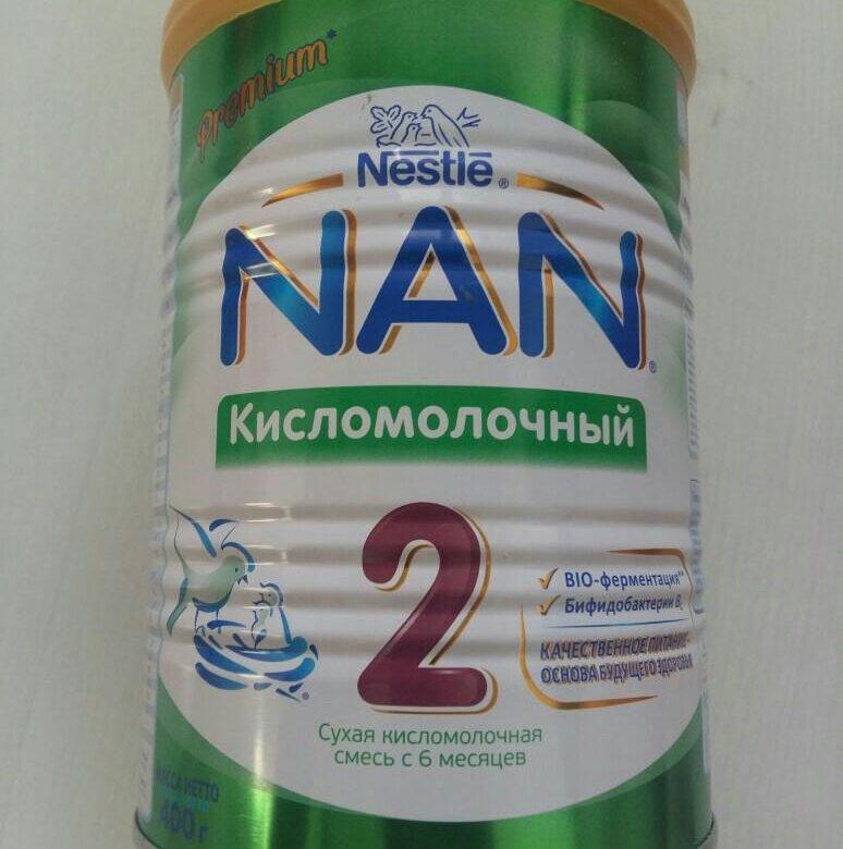 Питание нан кисломолочный