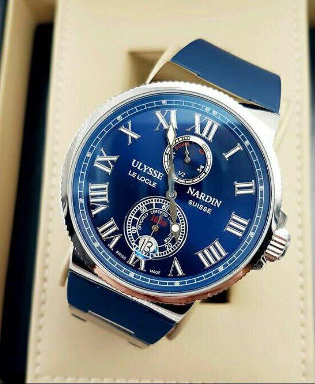 На заре своей славы мануфактура выпускала хронометры на морскую тематику и сохранила неизменным фирменный логотип — якорь.