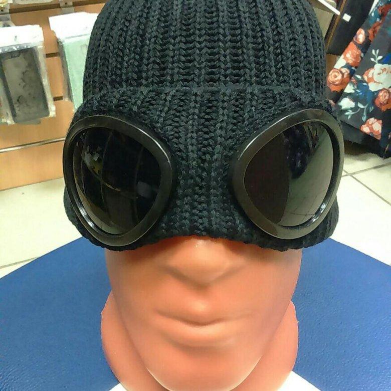 Шапка CP Company с очками теплая новая – купить в Москве 97cdbc7dd1969