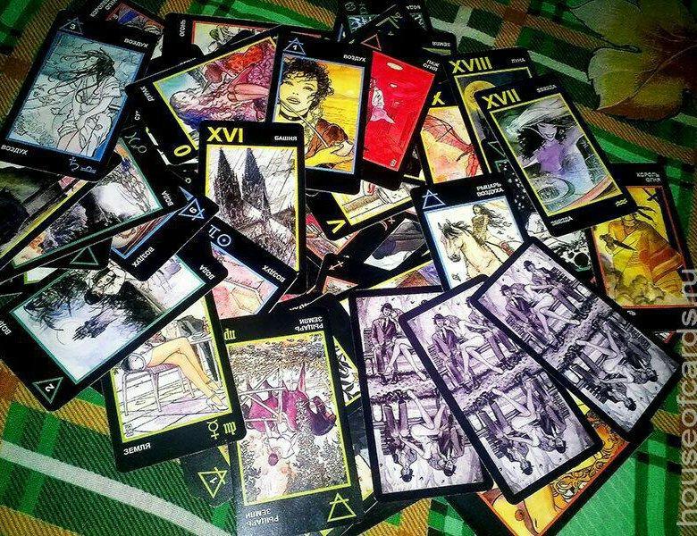 манара таро фото карт