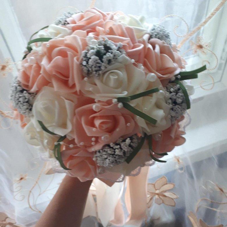 Букет невесты дубликат цена, цветов мостовской